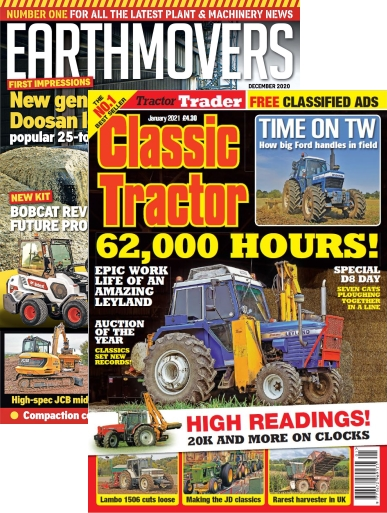Classic Tractor and Earthmovers Bundle